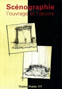 Scénographie, Chantal Guinebault, Théâtre/Public n°177