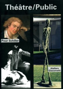Schiller Giacometti Théâtre/Public n°180